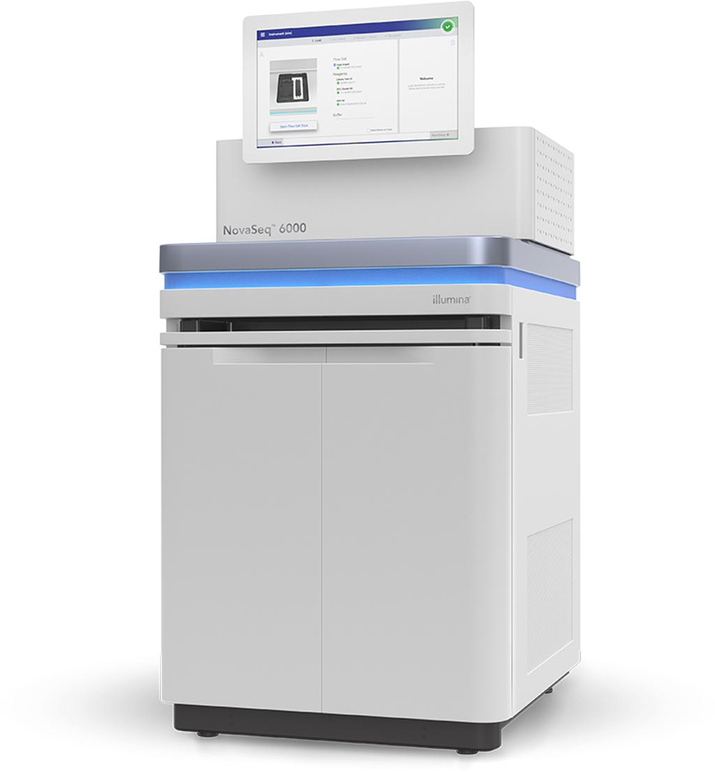 Image: The NovaSeq 6000 system (Photo courtesy of Illumina).