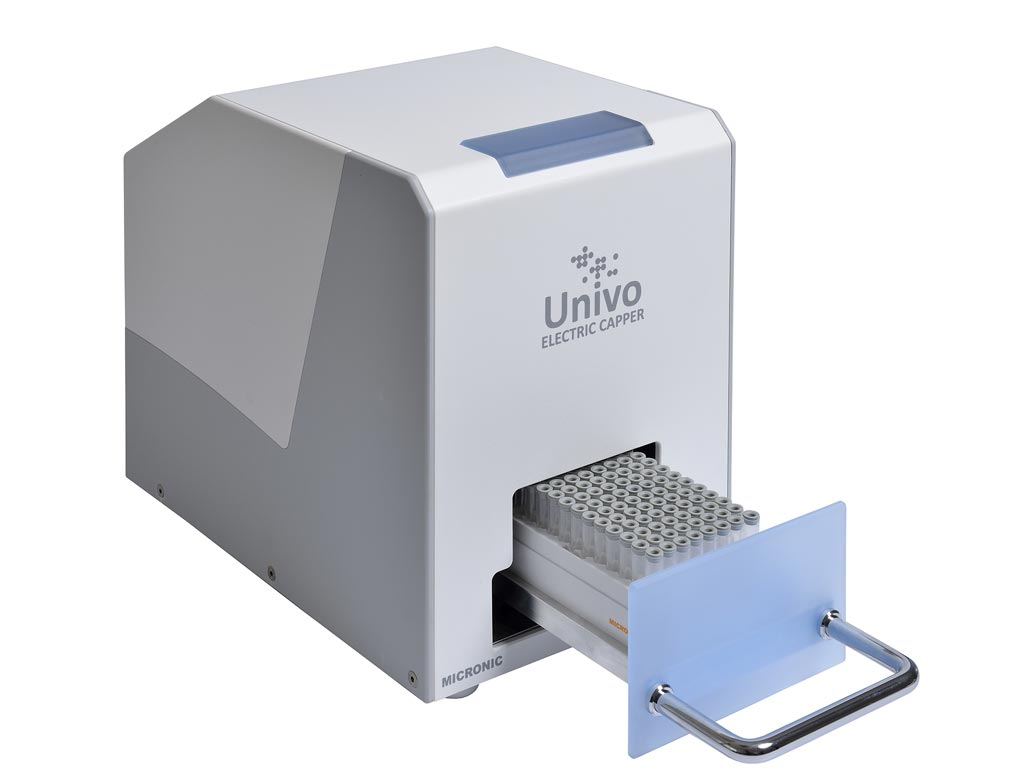 Image: The Univo Electric Capper/Decapper CP480 (Photo courtesy of Micronic).