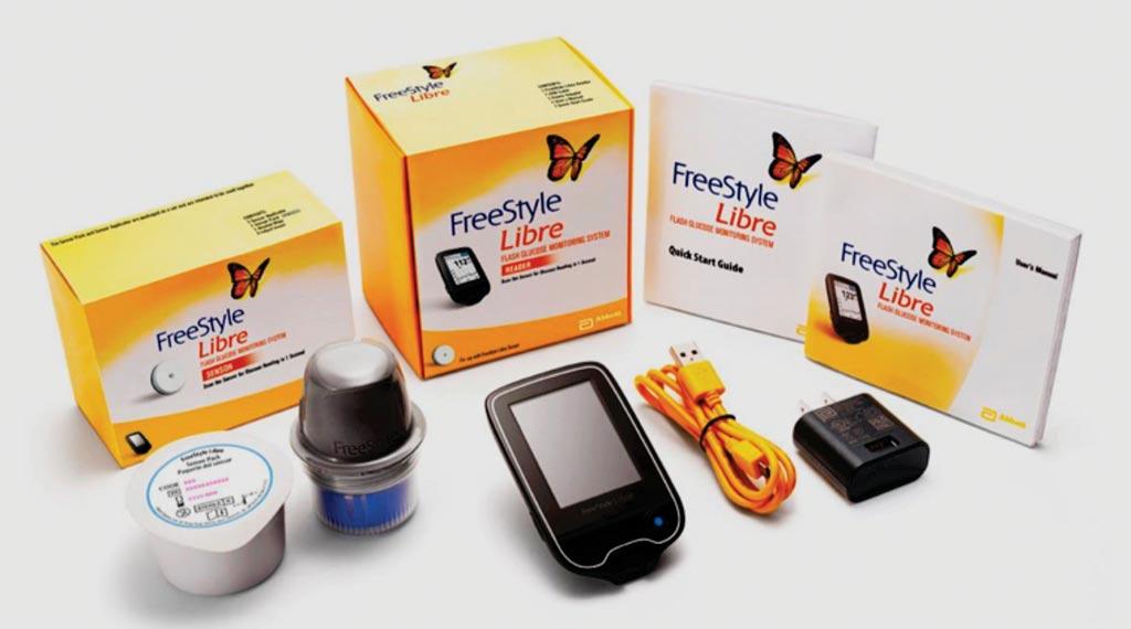 图片:FreeStyle Libre糖尿病监护系统(图片蒙diaTribe公司惠赐)。