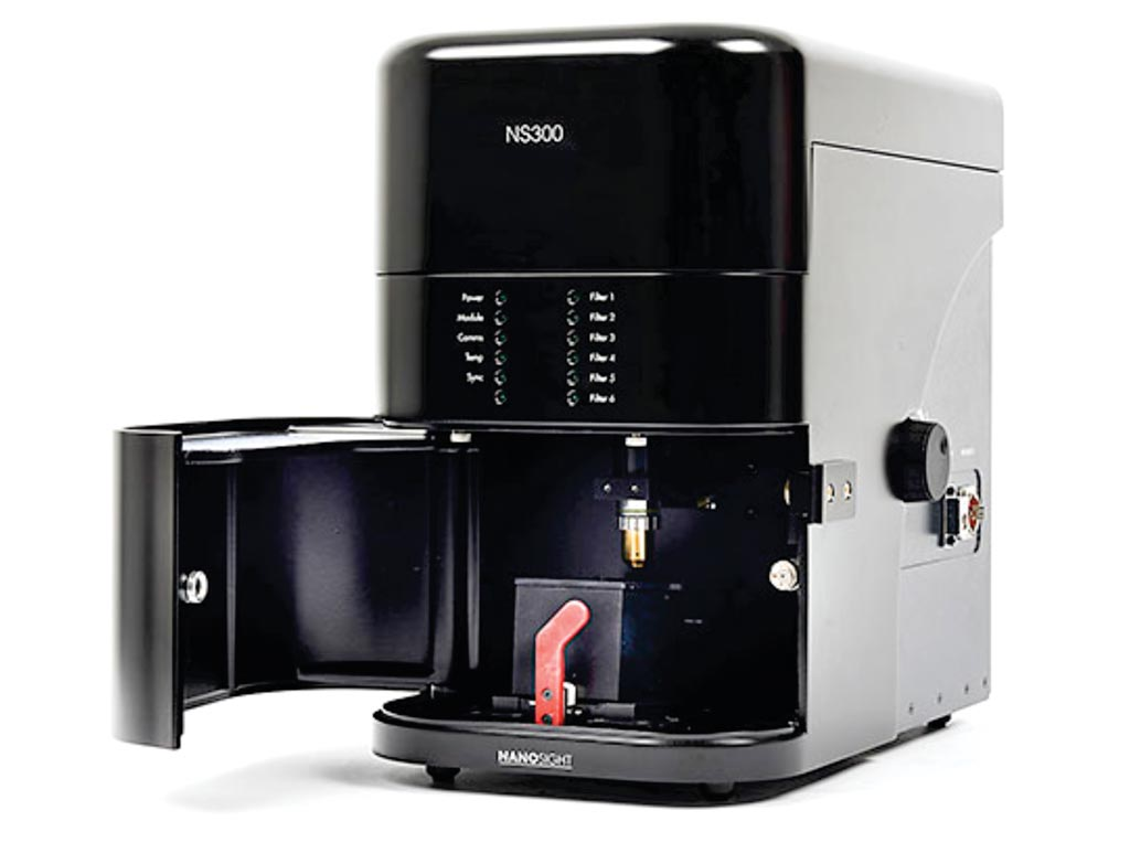 图片:NanoSight NS300仪器为测定纳米粒子提供了一个易用、可重复的平台(图片蒙Malvern仪器公司惠赐)。