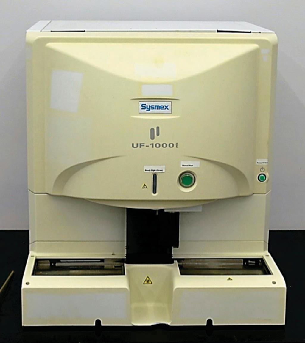 图片:UF-1000i自动尿颗粒分析仪(照片由Sysmex提供)。