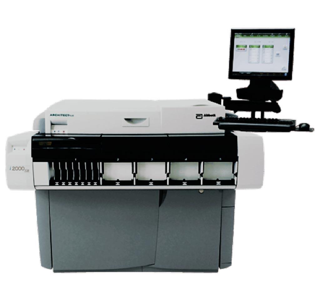图片:ARCHITECT i2000SR免疫分析仪(照片由Abbott提供)。