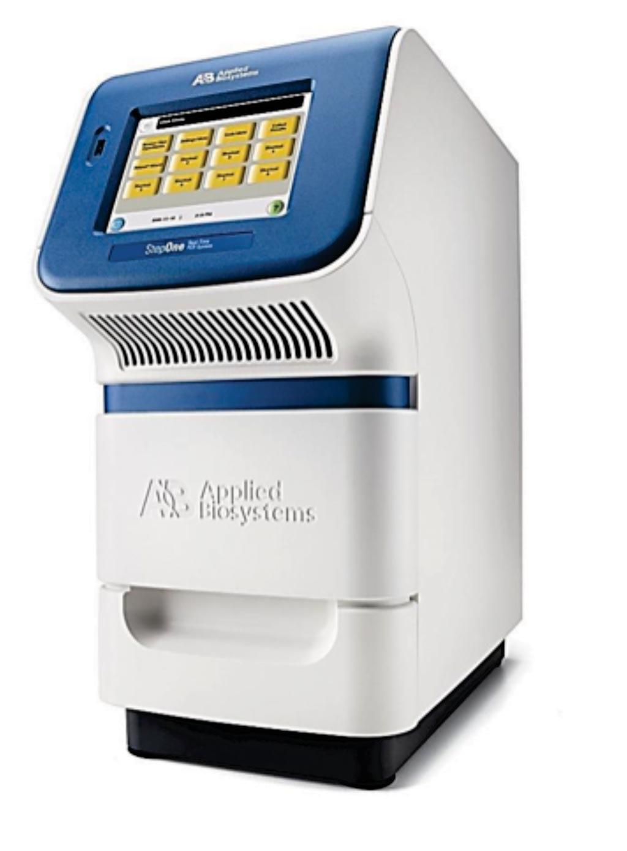 应用生物系统公司的Step One实时PCR(图片蒙赛默飞世尔科技公司惠赐)。