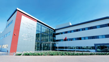 Imagen: El Hospital Sheikh Khalifa Ben Zayed Al-Nahyane (Fotografía cortesía del Grupo Sweett).