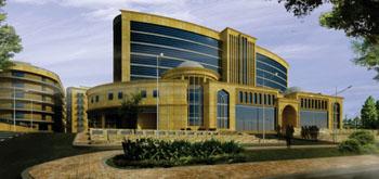 Imagen: El nuevo hospital Ibn Hayyan en Bagdad (Irak) (Fotografía cortesía de General Mediterranean Holding).