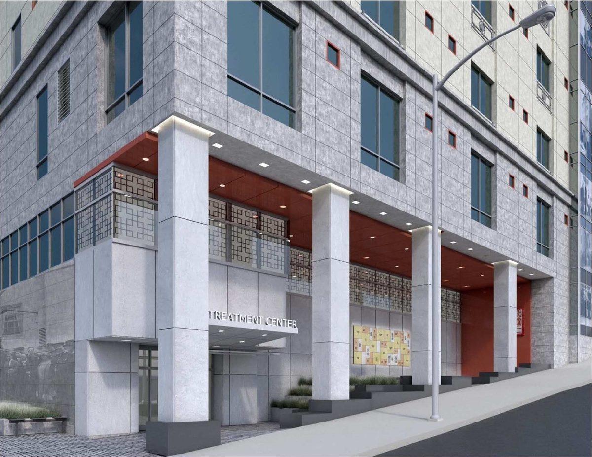 Imagen: El nuevo Hospital Chino en San Francisco (Fotografía cortesía del Hospital Chino).