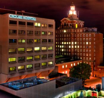 Imagen: El servicio de urgencias del hospital planificado Crouse (Fotografía cortesía del Hospital Crouse).