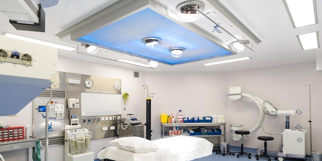 Imagen: Las MILS iluminan los teatros quirúrgicos (Fotografía cortesía de Luxiona).