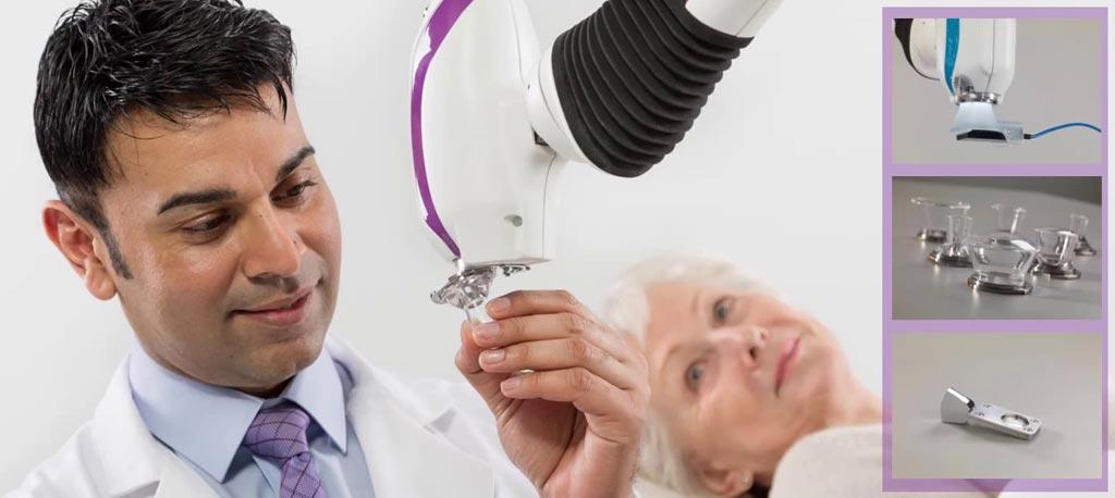 Imagen: un sistema de terapia fotoeléctrica de bajo costo puede reemplazar la cirugía invasiva (Fotografía cortesía de Xstrahl).