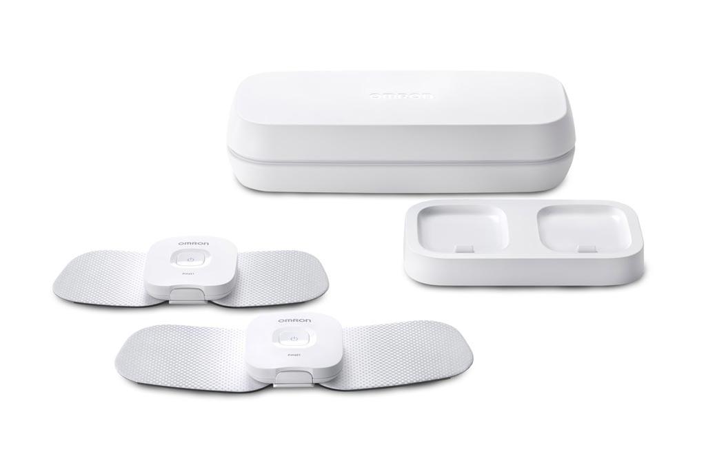 Imagen: El dispositivo TENS inalámbrico Avail brinda alivio sin medicamentos contra el dolor crónico y agudo (Fotografía cortesía de Omron Healthcare).