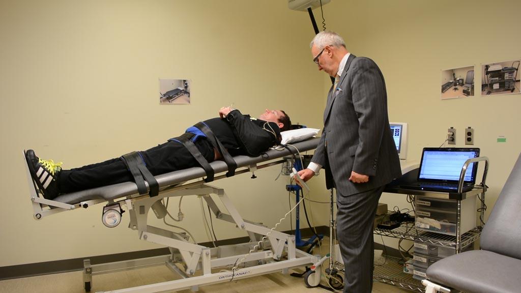 Imagen: Un estudio afirma que las neuroprotesis epidural puede mejorar la función cardiovascular en las personas con lesiones en la médula espinal (Fotografía cortesía de UBC).