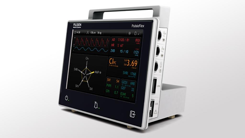 Imagen: El diseño del Maquet PulsioFlex es una plataforma flexible para la monitorización hemodinámica, adaptable a las necesidades individuales de los pacientes (Fotografía cortesía de Getinge).