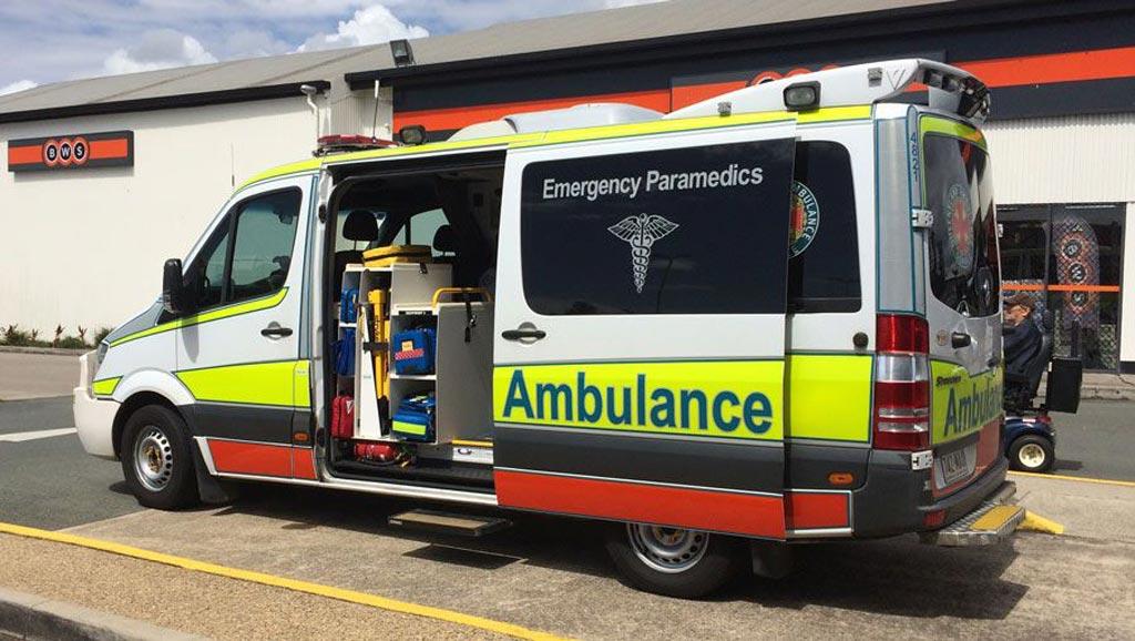 Imagen: Los paramédicos en Queensland pronto estarán armados con droperidol para calmar a los pacientes violentos (Fotografía cortesía de QAS).