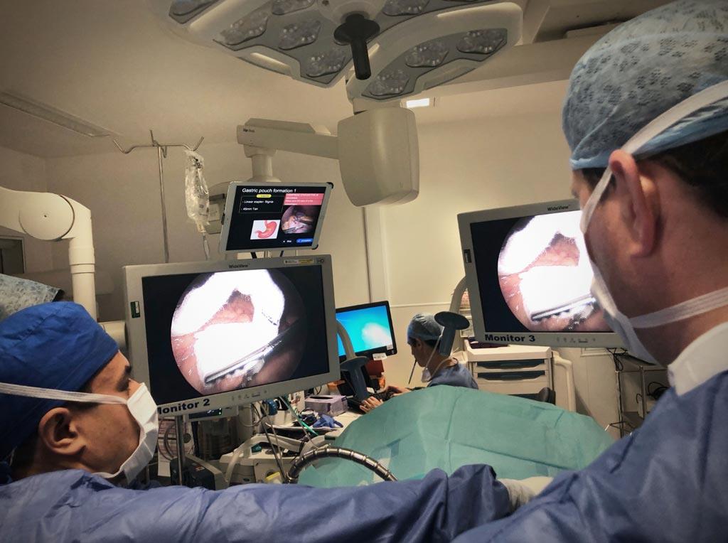 Imagen: El sistema de IA fue diseñado como una herramienta de navegación para los quirófanos y los centros de cirugía (Fotografía cortesía de Digital Surgery).