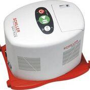 Imagen: El dispositivo de compresión para RCP Easy Pulse (Fotografía cortesía de Schiller).
