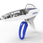 Imagen: El infusor rápido LifeFlow para pacientes que requieren un bolo de líquido urgente (Fotografía cortesía de 410 Medical).