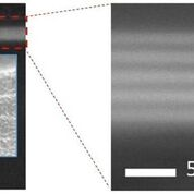 Imagen: Imágenes SEM del recubrimiento ALD conformal en los bordes y esquinas de la silicona (Fotografía cortesía de Picosun).