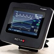 Imagen: Un monitor nuevo mide con exactitud el gasto cardíaco (Fotografía cortesía de Retia Medical).
