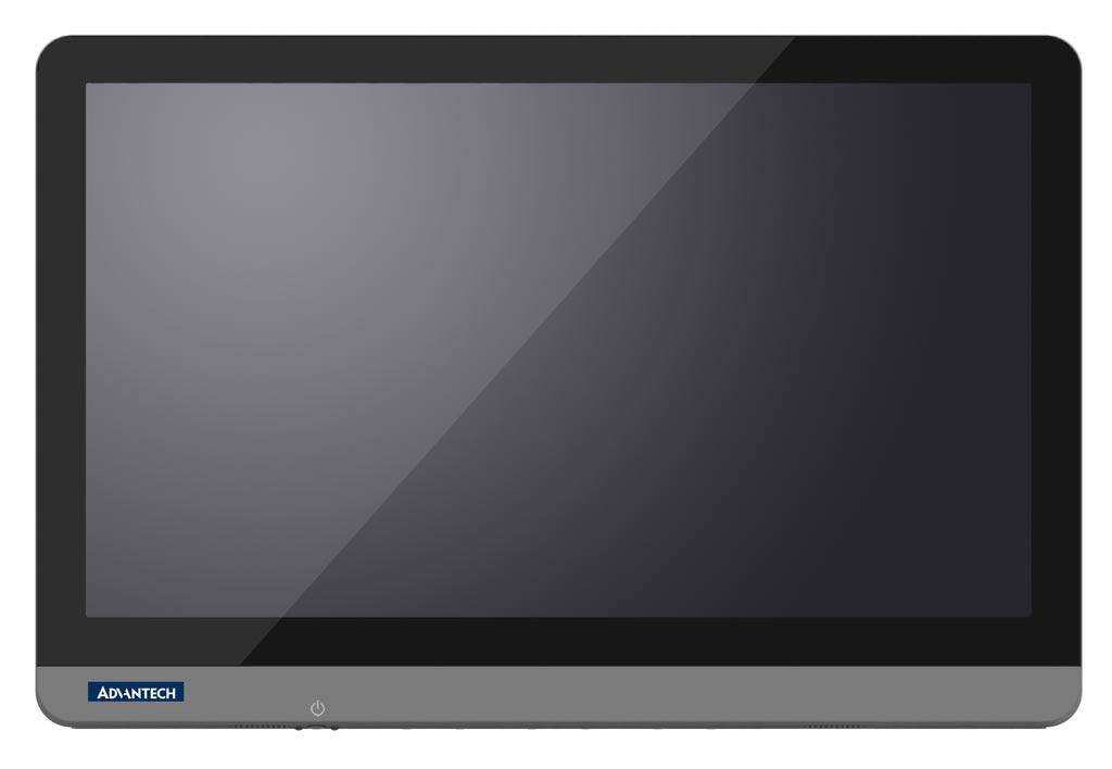 Imagen: La computadora todo en uno POC-W243L (Fotografía cortesía de Advantech).