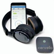 Imagen: El CES y los auriculares diseñados para ayudar a tratar los trastornos emocionales (Fotografía cortesía de Innovative Neurological Devices).