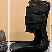 Imagen: El diseño novedoso del soporte les da a los ancianos más confianza mientras caminan (Fotografía cortesía de la facultad de medicina Baylor)