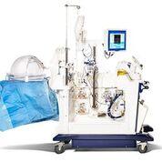 Imagen: El diseño del carrito sofisticado permite mantener los pulmones viables para el trasplante (Fotografía cortesía de Xvivo Perfusion).
