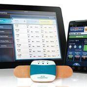 Imagen: El sistema de monitorización a distancia BodyGuardian (Fotografía cortesía de Preventice Solutions).