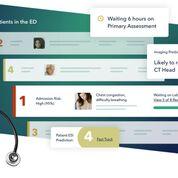 Imagen: El software ER superpuesto ayuda al personal a clasificar a los pacientes (Fotografía cortesía de Vital).