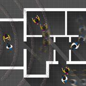 Imagen: Un estudio nuevo sugiere que las ondas de radio reflejadas pueden identificar patrones de comportamiento (Fotografía cortesía de MIT).