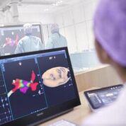 Imagen: El sistema de imágenes dieléctricas KODEX-EPD de Philips (Fotografía cortesía de Philips Healthcare).