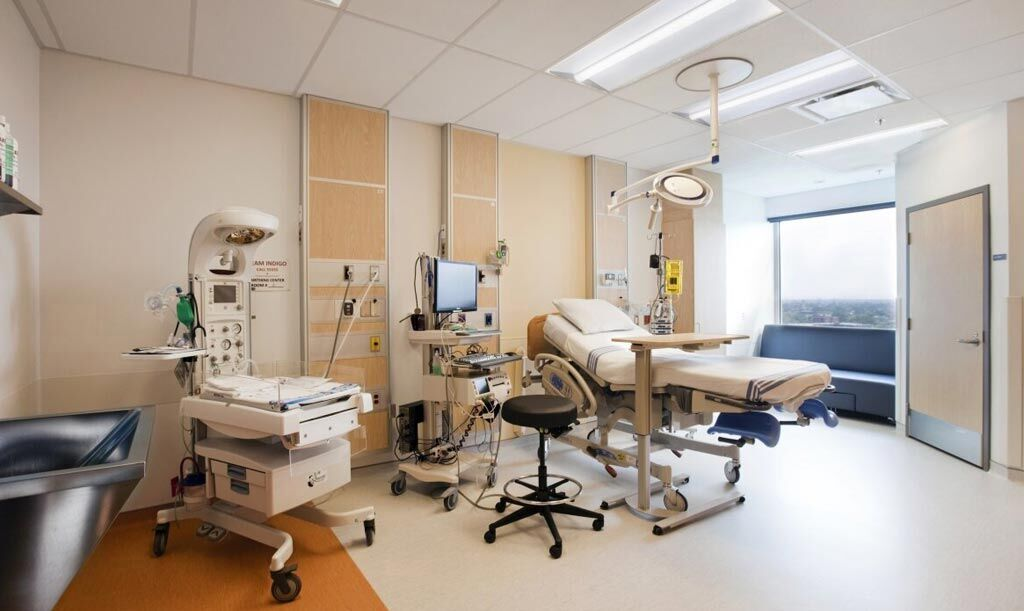 Imagen: Una habitación individual para pacientes en el nuevo Hospital Glen (Fotografía cortesía de la Universidad McGill).
