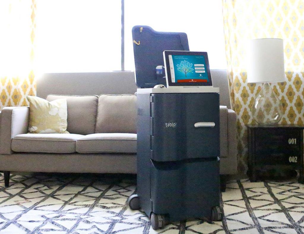 Imagen: El sistema de hemodiálisis Tablo se puede usar en cualquier lugar (Fotografía cortesía de Outset Medical).