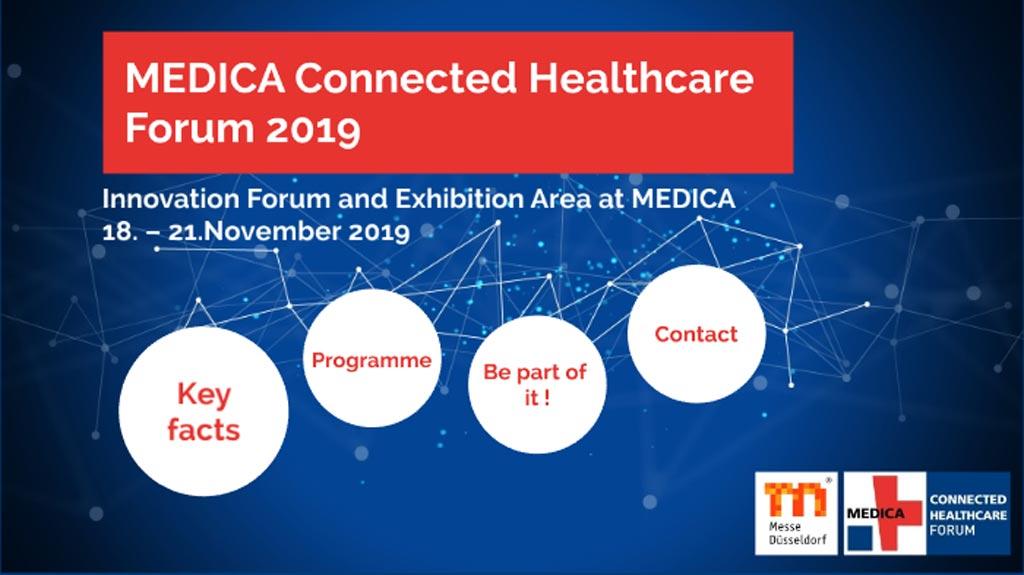 Imagen: En la MEDICA de este año, el MCHF presentará soluciones de vanguardia y celebrará sesiones sobre Internet de las Cosas Médicas (IoMT) (Fotografía cortesía de Prezi).