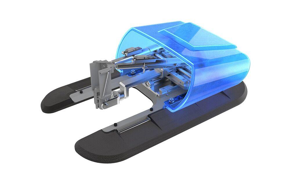 Imagen: El sistema de trayectoria de aguja, XACT Robotics (Fotografía cortesía de XACT Robotics)