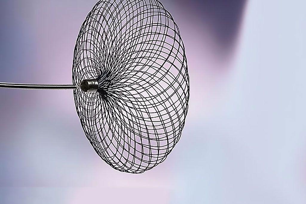 Imagen: El sistema neurovascular Contour (Fotografía cortesía de Cerus Endovascular)