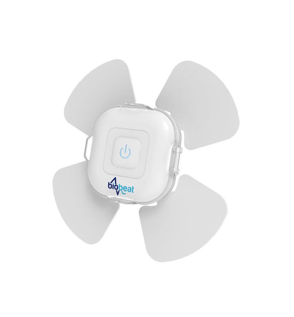 Imagen: El parche de monitorización médica de un solo uso Biobeat (Fotografía cortesía de Biobeat)