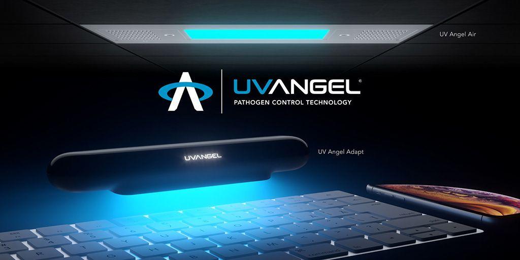 Imagen: El UV Angel Air (arriba) y el Adaptador UV Angel (Fotografía cortesía de UV Angel)