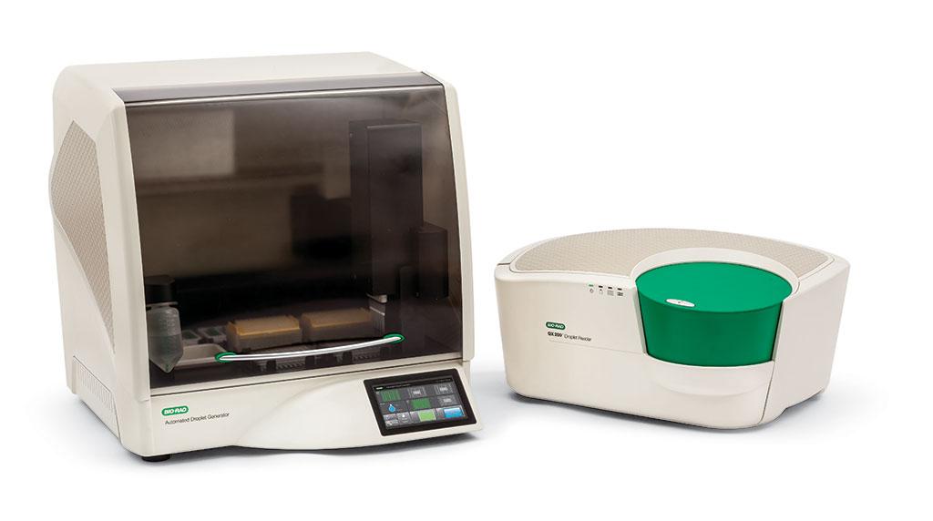 Imagen: Sistema de PCR BioRad QX200 Digital por Gotitas (Fotografía cortesía de Bio-Rad Laboratories, Inc.)