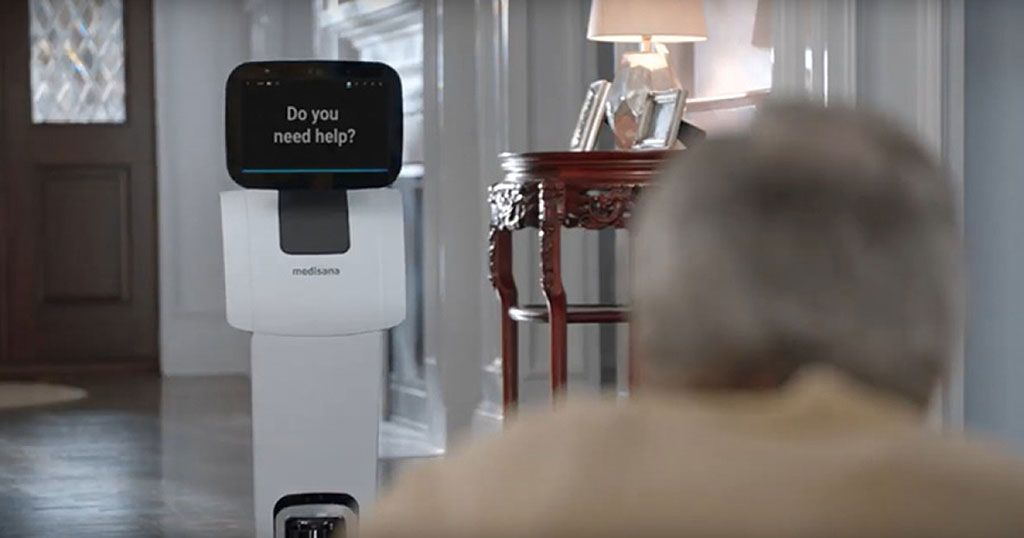 Imagen: Los robots de salud de Meditemi pueden ayudar a detectar los síntomas de la COVID-19 (Fotografía cortesía de Meditemi)