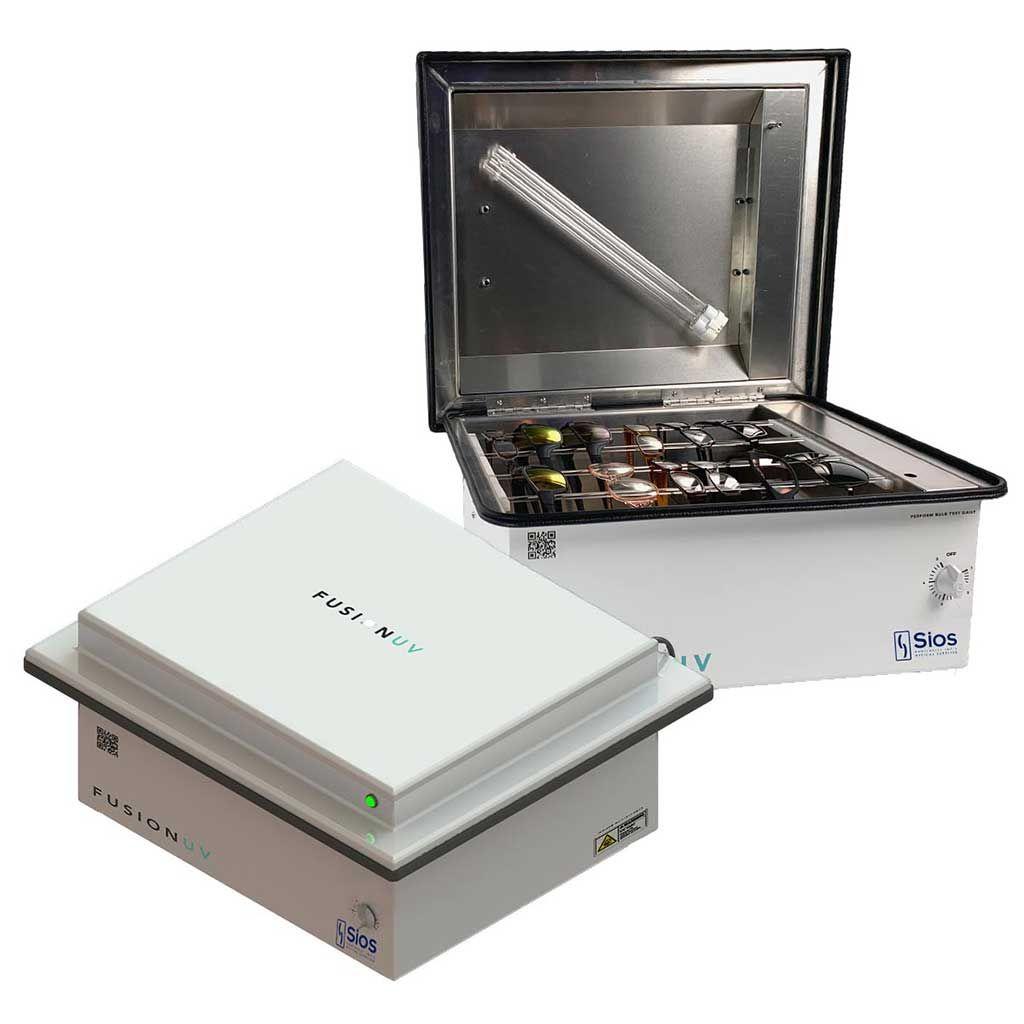 Imagen: Un dispositivo UVC compacto de mostrador mata los virus (Fotografía cortesía de Quantum Innovations)