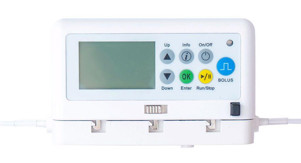 Imagen: La bomba de infusión ambulatoria Nimbus II Flex (Producto cortesía de The Zyno Solutions)