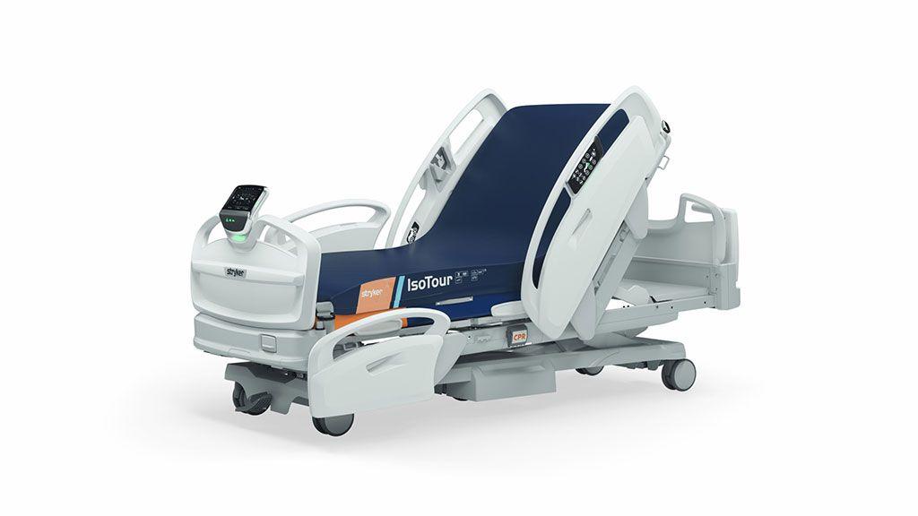 Imagen: La cama de hospital ProCuity es completamente inalámbrica (Fotografía cortesía de Stryker Corporation)