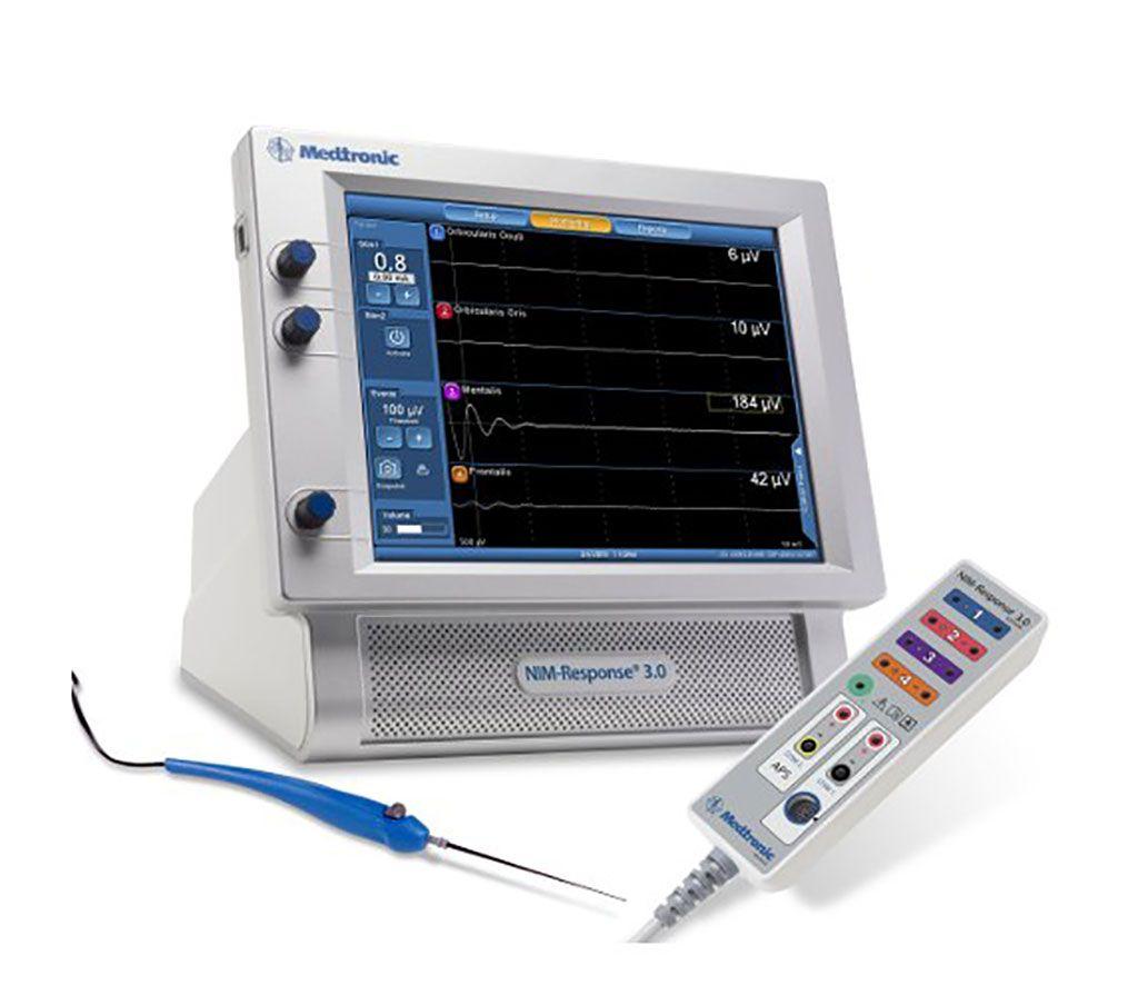 Imagen: El sistema NIM Vital monitorea los nervios durante la cirugía (Fotografía cortesía de Medtronic)