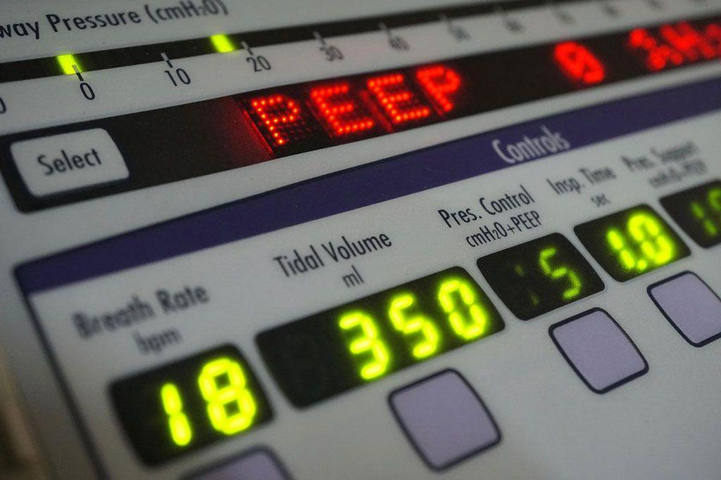 Imagen: Los niveles más bajos de PEEP son tan eficientes como los más altos (Fotografía cortesía de Getty Images)
