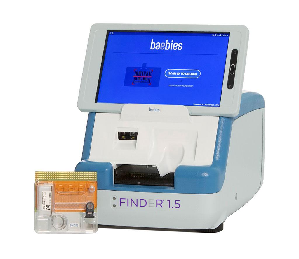 Imagen: Instrumento FINDER 1.5 (Fotografía cortesía de Baebies)