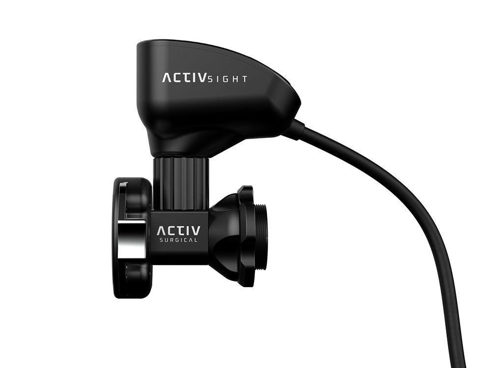 Imagen: El módulo de imágenes intraoperatorias ActivSight (Fotografía cortesía de Activ Surgical)