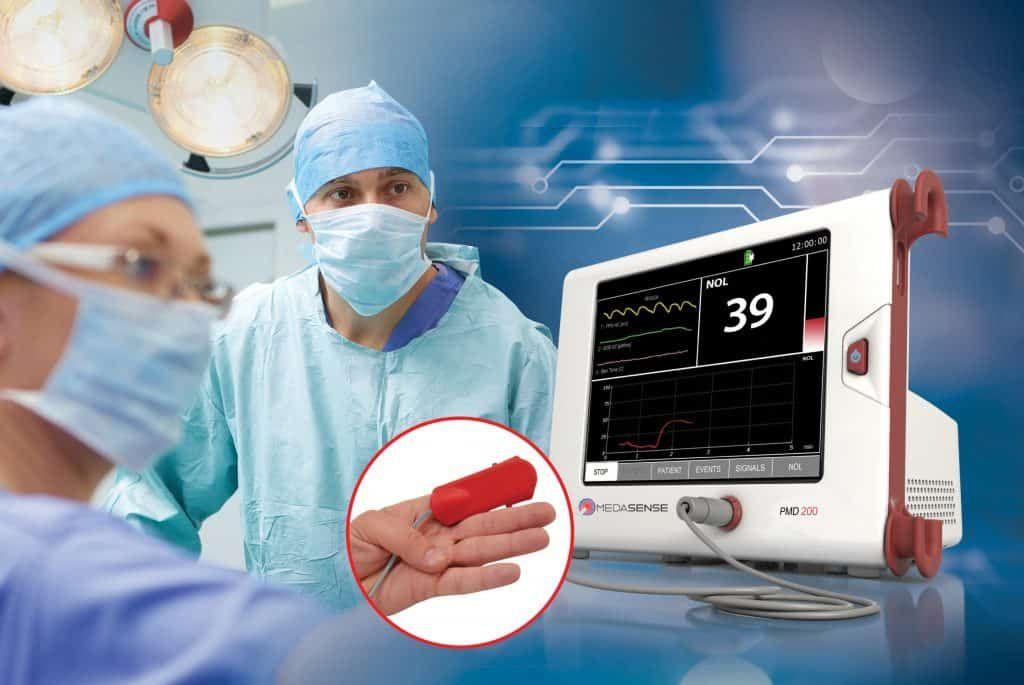 Imagen: Un monitor intraoperatorio puede ayudar a reducir el dolor subsiguiente (Fotografía cortesía de Medasense)