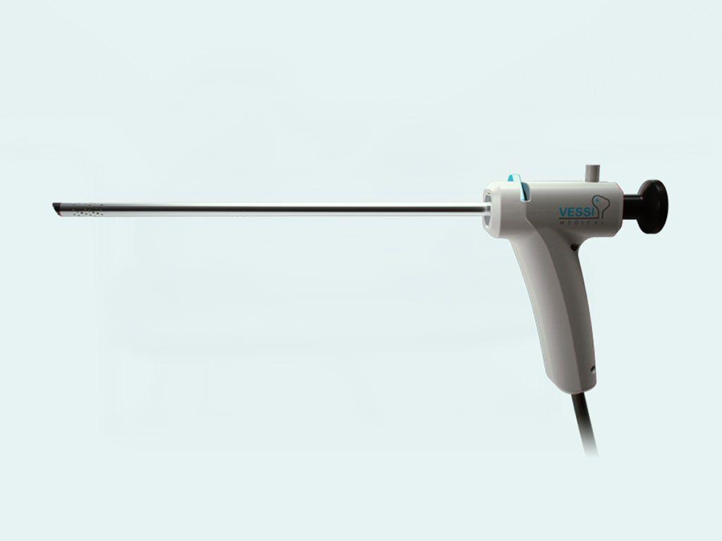 Imagen: El sistema de crioablación vesical Vessi Medical (Fotografía cortesía de Vessi Medical)