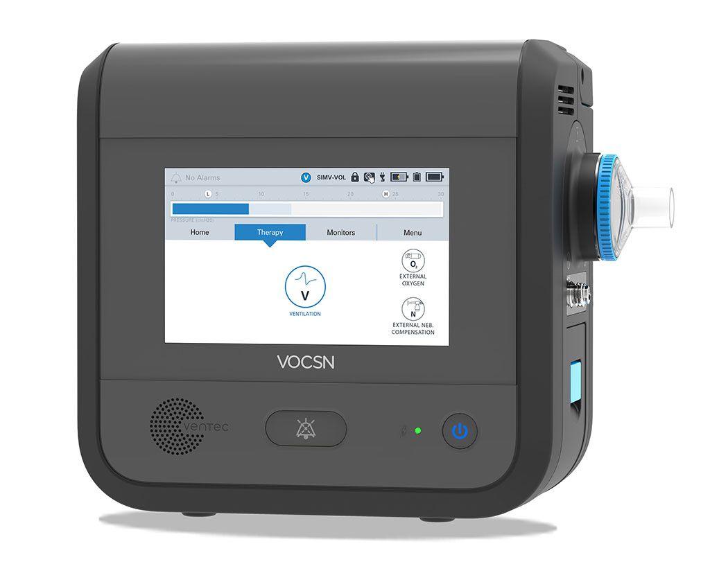 Imagen: El ventilador Ventec V+Pro (Fotografía cortesía de Ventec Life Systems)