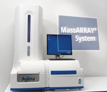 Imagen: El sistema analizador MassARRAY Dx (Fotografía cortesía de Agena Bioscience).
